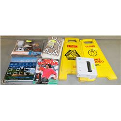 BUNDLE OF ASSORTED MERCHANDISE INCLUDING