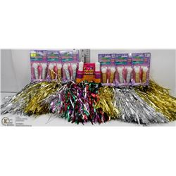 BUNDLE OF POM POMS