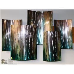 MODERN ART METAL WALL HANGING