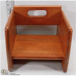 NEW TABLECRAFT WALNUT BOOSTER SEAT