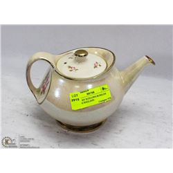 TEAPOT BY SUDLOWS-BURSLEM MADE IN ENGLAND