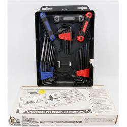 NEW INCRA JIG IN BOX WITH MULTI HEX KEY SETS IN