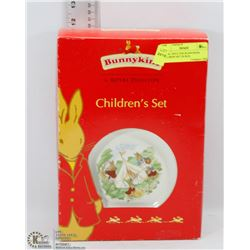 ROYAL DOULTON BUNNYKINS CHILDREN' SET IN BOX