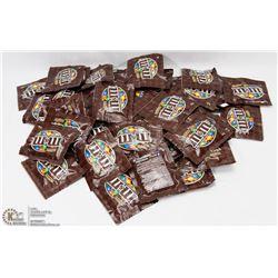 50 BAGS OF M&M'S MILK CHOCOLATE CANDIES (13G EA)