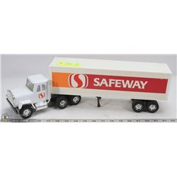 SAFEWAY VINTAGE TOY TRUCK MADE IN HONG KONG