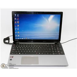 TOSHIBA LAPTOP WITH POWERCORD, WINDOWS 8