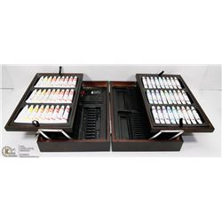 WATER COLOR PAINT BOX W/54 ART STUDIO PAINT