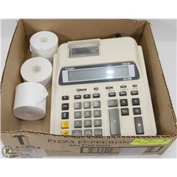 CANO ADDING MACHINE WITH 3 ROLLS OF TAPE