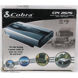 COBRA CP12575 DC- AC INVERTER 2500W
