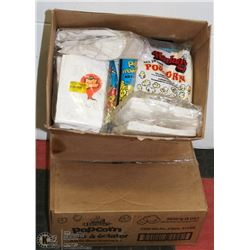 2 BOXES OF POPCORN