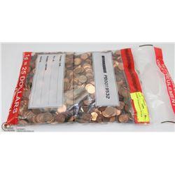ESTATE BANKER'S BAG W/OVER 2,500