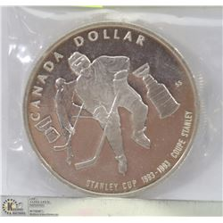 1993 CANADIAN STANLEY CUP SILVER DOLLAR 25GRAMS