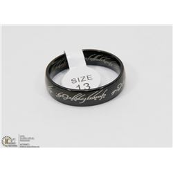 REPLICA LORD OF THE RINGS BAND SZ 13