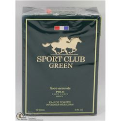 SEALED SPORT CLUB RALPH LAUREM MENS COLOGNE