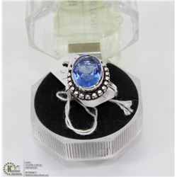 #56-TANZANITE GEMSTONE RING