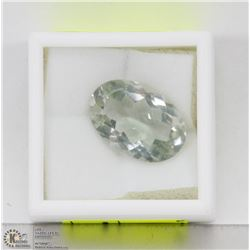 144) GENUINE GREEN AMETHYST, OVAL, LARGE SIZE,