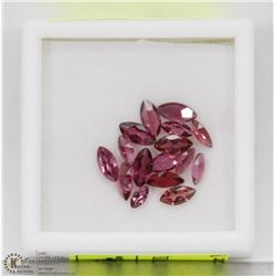 125) GENUINE GARNETS, MARQUISE, APPROX 4 CTS
