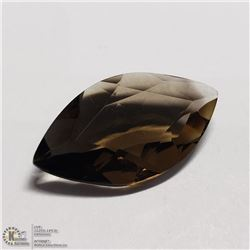 162) SMOKY QUARTZ, MARQUISE, APPROX 7 CTS