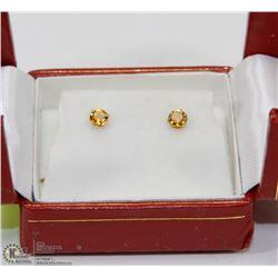 77)14K GOLD EARRINGS