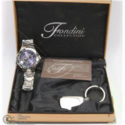 NEW OLD STOCK IN BOX VINTAGE FRONDINI MENS WATCH.