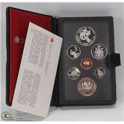 1983 PROOF SILVER DOUBLE DOLLAR SET