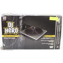 DJ HERO WIRELESS TURNTABLE FOR GAMING