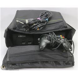ORIGINAL XBOX 360 CONSOLE WITH ORIGINAL XBOX BAG
