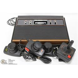 ATARI GAME SYSTEM / W 3 PADDLE CONTROLLERS & 1