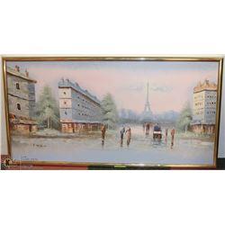 156) UNTITLED PARISIAN AFTERNOON. A. HERBERT