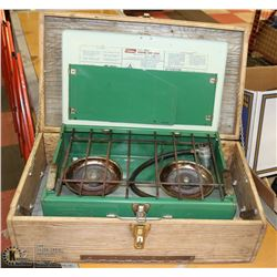 CAMPSTOVE IN WOODEN BOX