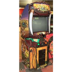 BIG BUCK WORLD 2 PLAYER COIN OPERATED ARCADE GAME