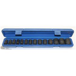 14PC IMPACT SOCKETS WITH CARRY CASE