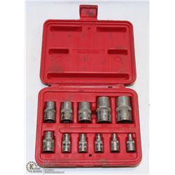 MAC TOOLS 11PC SOCKET SET WITH CASE