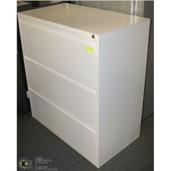 3 DRAWER FILING CABINET WITH KEYS