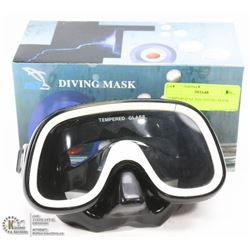 TEMPERED GLASS DIVING MASK
