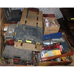 PALLET OF ASSORTED LOOSE TOOLS AND TOOL KITS