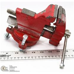"RED 3 1/2"" VICE. TOOLS & EQUIPMENT"