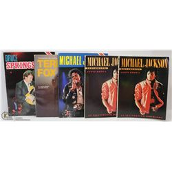 MICHAEL JACKSON COLLECTOR BOOKS.