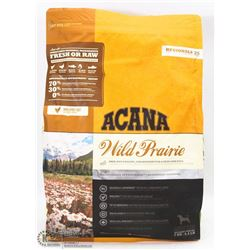 BAG OF ACANA WILD PRAIRIE FREE RUN POULTRY DOG