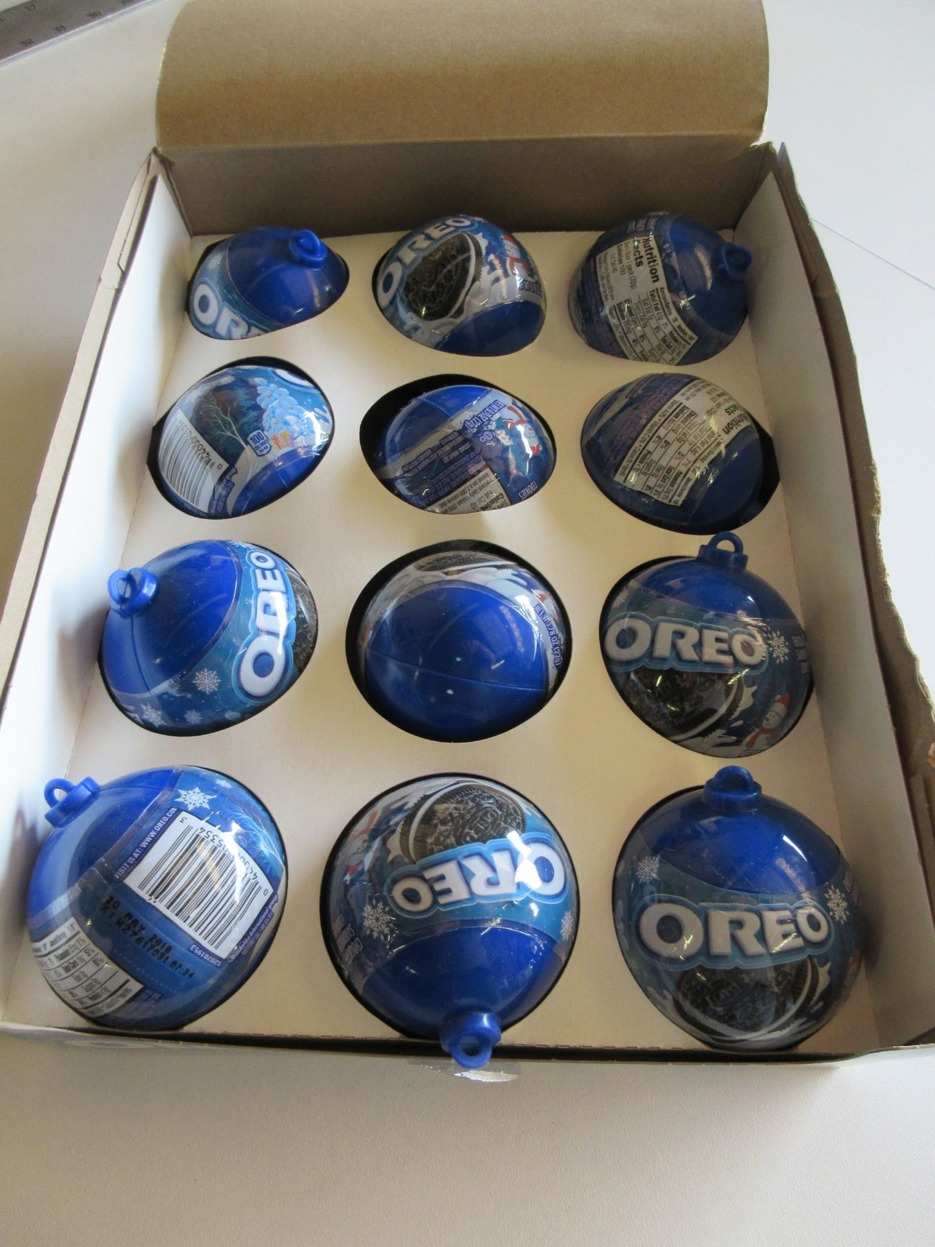 Box Of New Oreo Ornaments Tree Ornaments With Cookies Inside