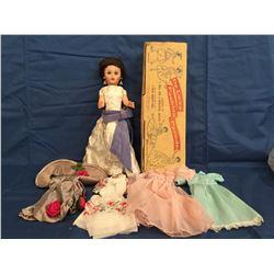 DeLuxe Fashion Parade Doll in Original Box