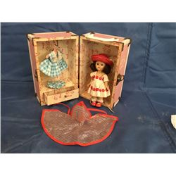 "Vogue "" Ginny "" Doll with Wardrobe Carry Case"