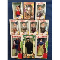 Snow White, Prince, Witch and Seven Dwarfs MIB