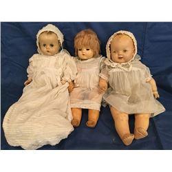 3 - Compo Dolls