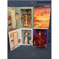 Collector Editions 3 Barbies MIB