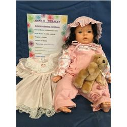"""Reborn """"Alanna Angela"""" from """"Nana's Nursery"""" ***This is not a Toy****"""