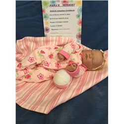 """Reborn """"Kaitlyn Julia"""" from """"Nana's Nursery"""" ***This is not a Toy****"""