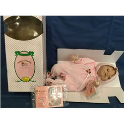 "Paradise Galleries Baby Softly as You Sleep ""Abigail MIB retired COA"