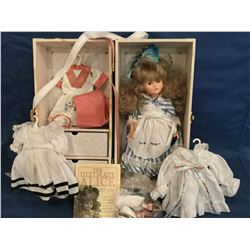 Ultimate Alice Doll, with truck and outfits MIB COA
