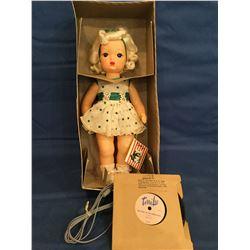 1950's Talking Terri Lee Doll Mint but box not